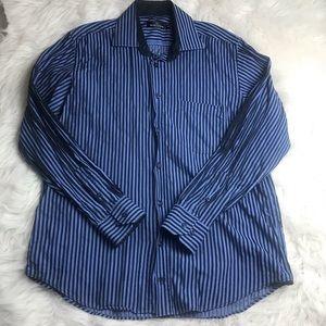 Bugatchi Uomo Shirt Long Sleeve Button Down XL